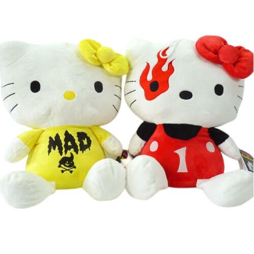 """Hello Kitty Kuscheltier """"Mad Barbarians"""" - ca. 55 cm"""