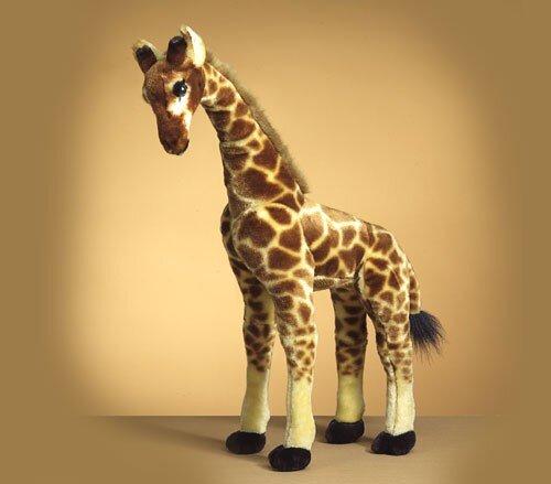 Naturgetreue Giraffe, ca. 65 cm groß