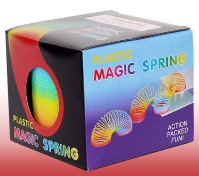 große Regenbogen-Spirale 8 x 6 cm