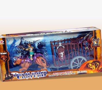 Devildom Contend Dominator Terrible and Evil Monster World,
