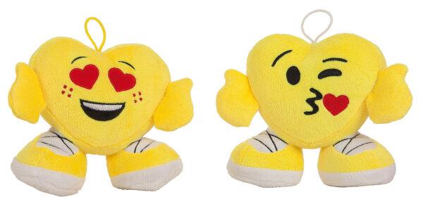 Emoji Herz mit Händen und Füßen 16cm