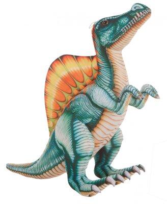 Dinosaurier in grün/orange/gelb, 85 cm