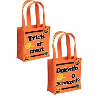 Halloween Tasche Kinder & Eimer für Süßigkeiten