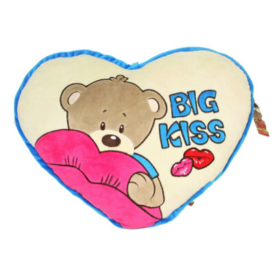 Kissen Herz Big Kiss