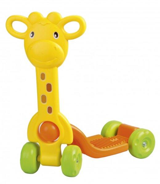 Roller mit Giraffenkopf-Handgriff