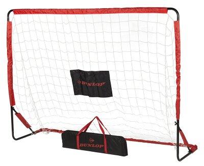 Dunlop Fussballtor inkl. Zielscheibe & Tragetasche