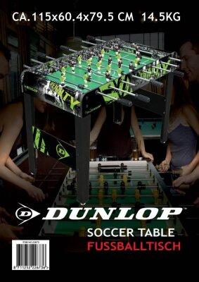 """Dunlop-Kicker-Fußball-Tisch, """"penalty"""""""
