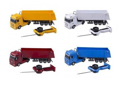 """Ferngesteuerter """"Mercedes Benz Actros""""-Truck mit Kipp-Container"""