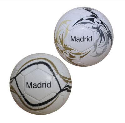 Fußball Größe 1 mit Madrid Schriftzug