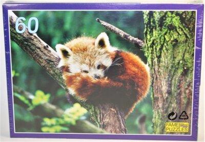 Tierpuzzle 60 Teile, gemischte Tiermotive