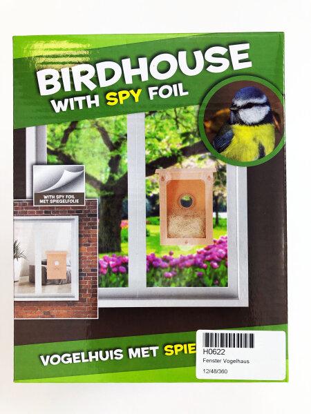 Vogelhaus mit Guckfolie
