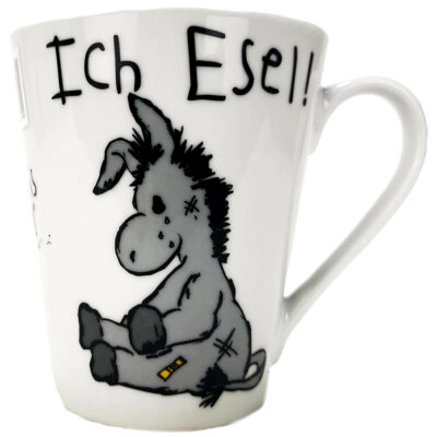 "Kaffeetasse ""Ich Esel"""