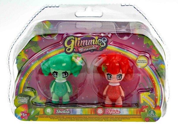 Glimmies Shelisa & Spiria Set Rainbow Friends