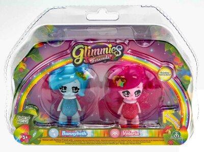 Glimmies Bunnybeth & Volaria Set Rainbow Friends