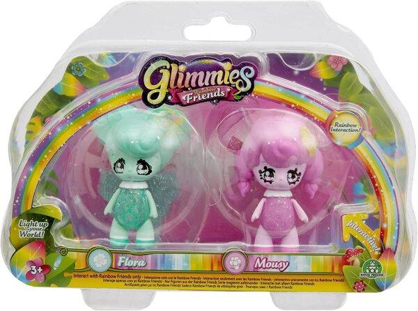 Glimmies Flora & Mousy Set Rainbow Friends