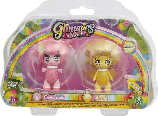 Glimmies Castorina & Abella Set Rainbow Friends
