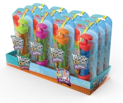 Magic Kidchen Pull Pops im Display, einzeln verpackt