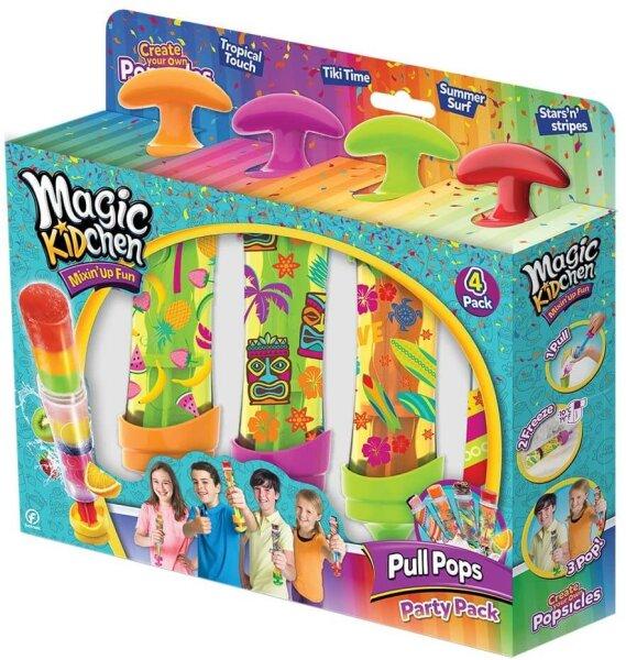 Magic Kidchen Pull Pops 4er Pack - Eis am Stiel selber machen