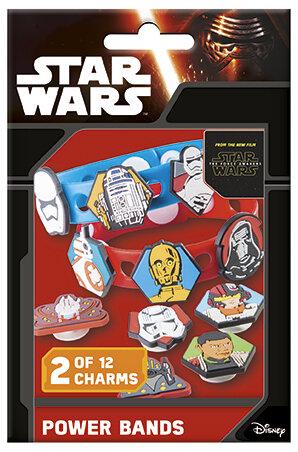 Star Wars Armband (verstellbares Armband und 2 von 12 Bildern zum Anklicken)