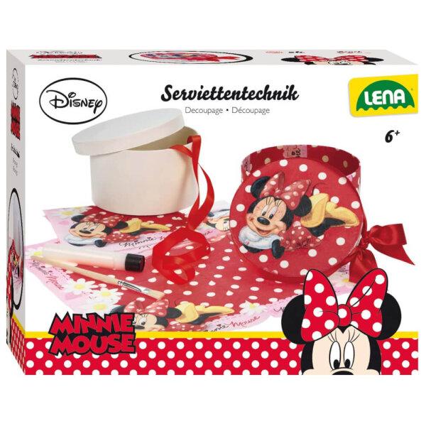Serviettentechnik Disney Minnie Lena, 30 X 8,5 X 24 cm