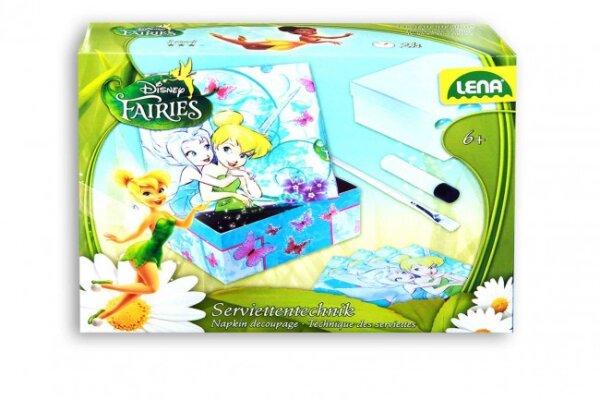 Serviettentechnik Disney Fairies Lena,  30 X 24 cm