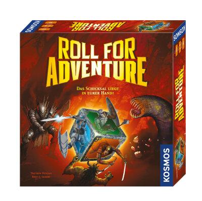 Roll for Adventure - Brettspiel
