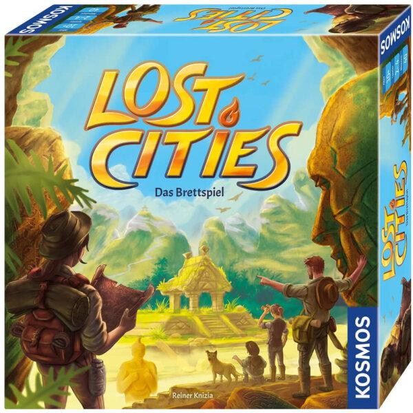 Lost Cities- Das Brettspiel