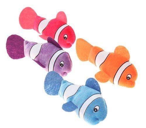 """Plüsch """"Clownfische"""" 17 cm, 4 verschiedene Farben"""