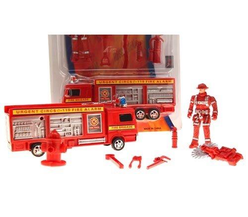 Mittl. Feuerwehr +FW-Mann in Box