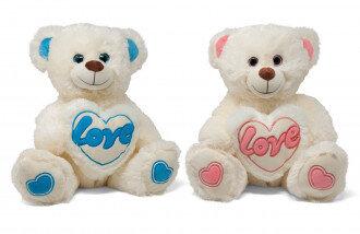 """Bär mit Herz """"Love"""", ca. 50 cm groß"""