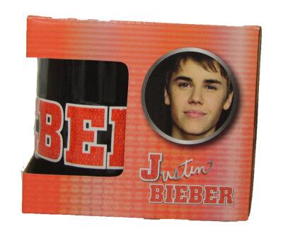 Justin Bieber Becher 3D 12x10cm