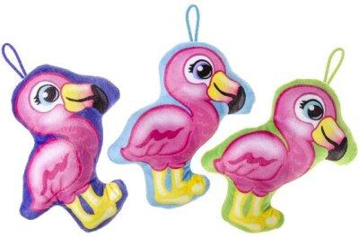 Flamingo aus Plüsch