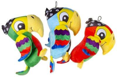 Piraten Papagei Kuscheltier mit Piratentuch