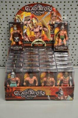 Gladiator in Schachtel, 6 verschiedene Modelle,...