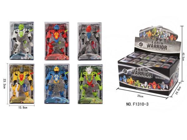 Earth Warrior Figuren im Display