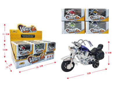 Cooles Motorrad im Chopper Stil