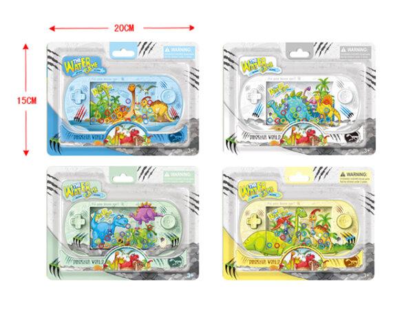 Wasserspiel mit Dino Motiven