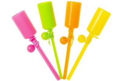 Fangballspiel 4 verschiedene Farben