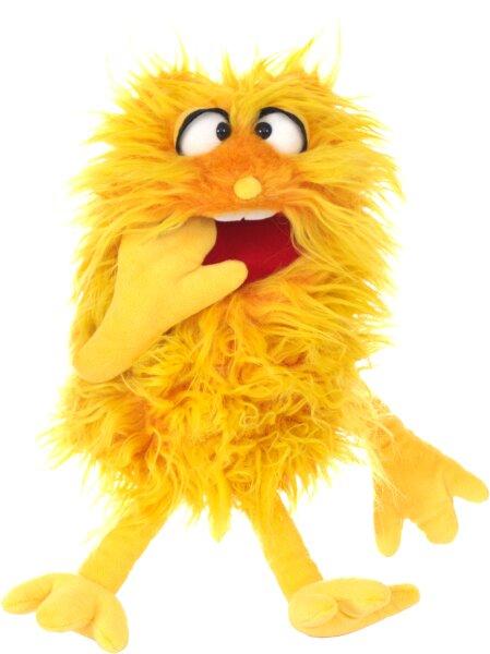 Handpuppe Niggels von Living Puppets ein Monster to Go