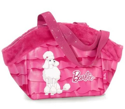 """Tragetasche """"Barbie Pudel Sequin"""", pink mit..."""