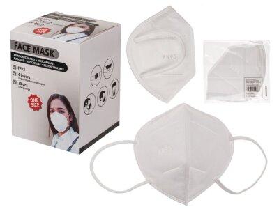 Mund-Nasen-Schutzmaske 4-lagig KN95/FFP2