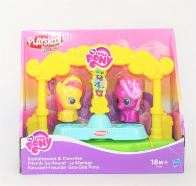 My Little Pony Playset, Karussell- Freunde,Bumblesweet...