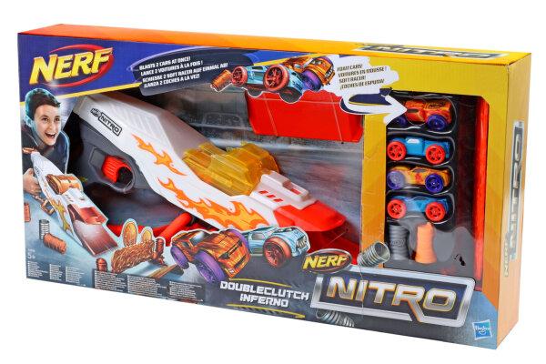 Hasbro Nerf Nitro DoubleClutch Inferno, Fahrzeugblasterset