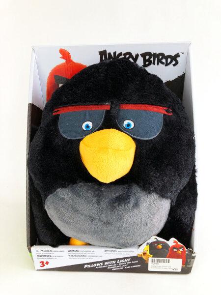 Kissen mit Licht - Bomb und Red von den Angry Birds