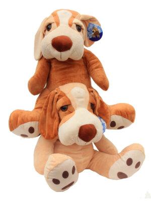 Süßer Plüschhund 2fach sortiert sitzend...