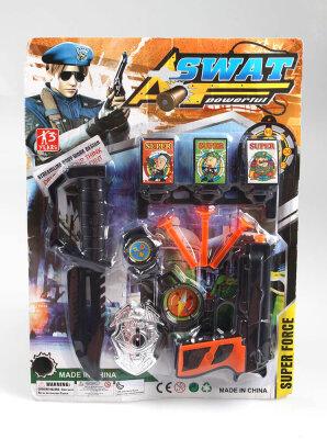 Polizei SWAT-Set 9teilig auf Karte