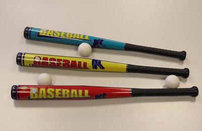 Baseballschläger, 71cm, mit 6cm Baseball