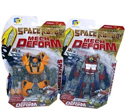Space-Robot Mech-Deform, transformierbar