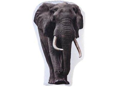 Elefantenkissen, ca. 62 cm