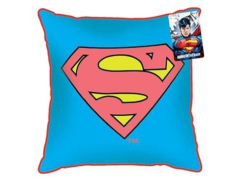 Superman Glow Cushion 35x35 cm, Resved DC Comics